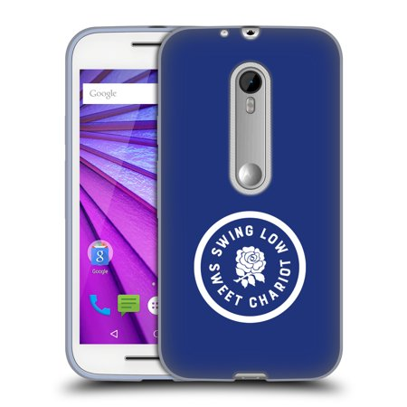 128 Rugby (OFFICIAL ENGLAND RUGBY UNION 2016/17 THE ROSE SOFT GEL CASE FOR MOTOROLA PHONES)