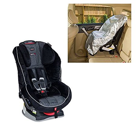 Britax Boulevard G41 Convertible Car Seat With Sunshade Onyx Black