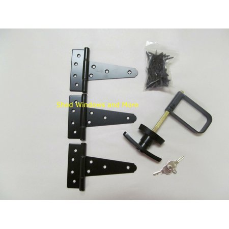 Horse Stall Gate - Single Door Hardware Kit 5