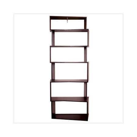 Nexxt Modera Staggered Bookshelf In Java