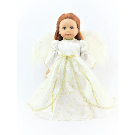 Joy to the World Christmas Angel Outfit  -Fits 18