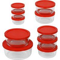 20-Pc. Pyrex Storage Containers Set