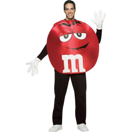 Red M&M Theatre Costumes Easy Costumes Food Candy Couples Costume Idea - Couples Costume Ideas Funny