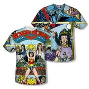 Jla - No 1 Cover (Front/Back Print) - Short Sleeve Shirt - Medium