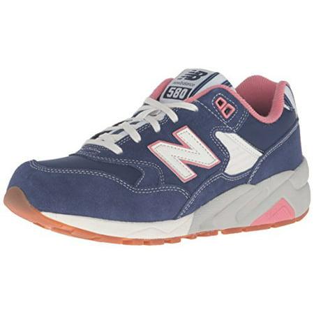 newest 42196 70a3e New Balance WRT580RH: NB 580 Seaside Hideaway Navy/Pink Casual Comfort  Sneaker