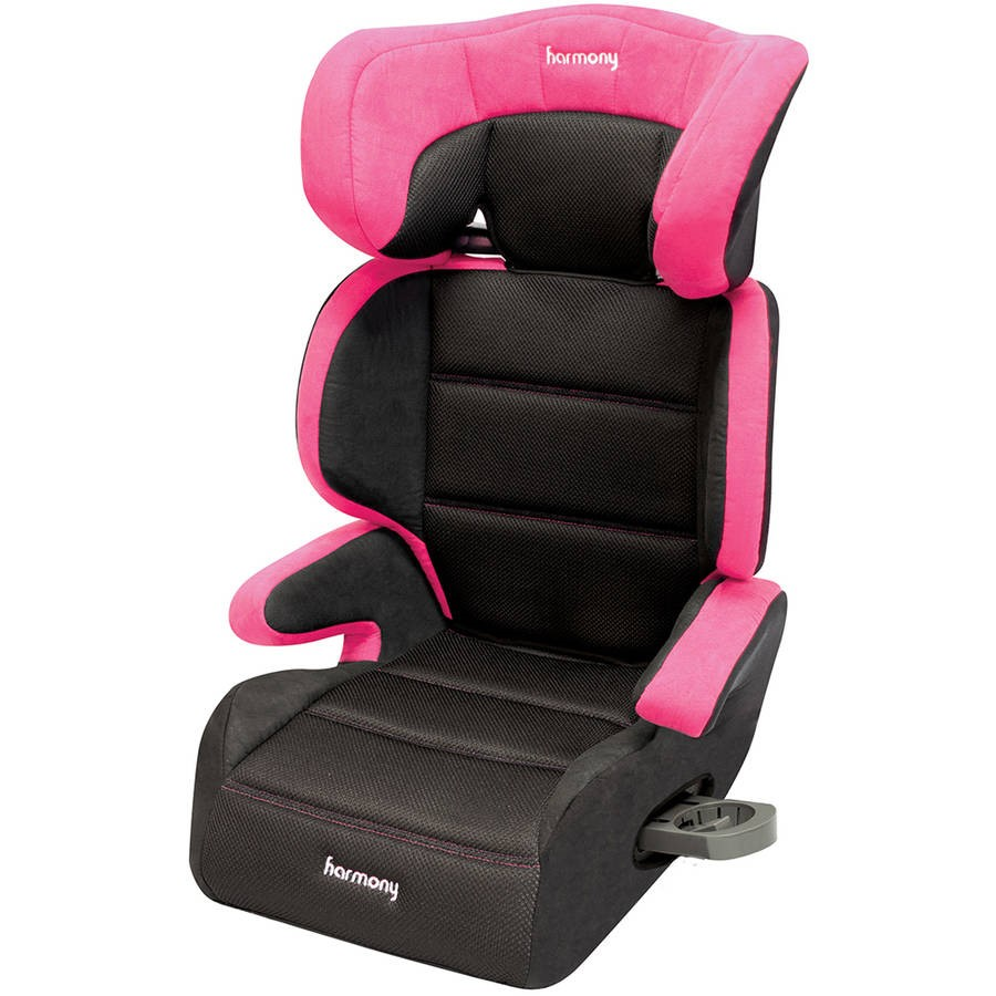 Harmony Juvenile Dreamtime Deluxe Comfort High Back Booster Car Seat, Pink