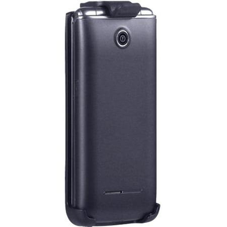 Verizon Housing - Verizon Shock Absorbing Swivel Belt Clip Holster for LG VN370/Exalt II - Black