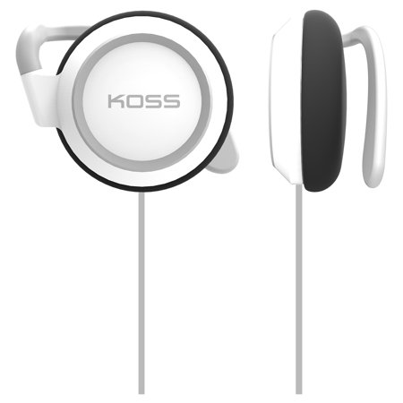 Koss KSC21 Earphone - Stereo - White - Mini-phone - Wired - 36 Ohm - 50 Hz 18 kHz - Over-the-ear - Binaural - Supra-au