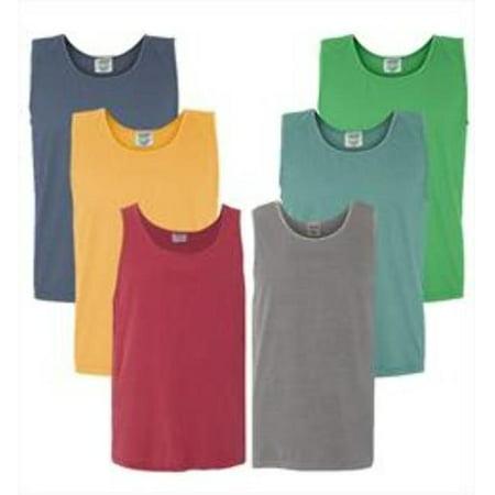 Irregular Garment Dyed Adult Tank Tops - Assorted - 3X Case of 12 - image 1 de 1