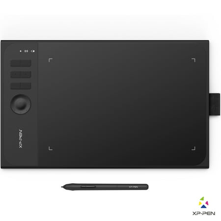 XP-Pen Star06 Wireless Drawing Graphic Tablet 8192 level Pens Pressure 14 x  8 7 inch Compatible with Windows & Mac