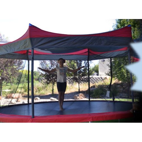 Propel Tr&olines 15u0027 Tr&oline Cover  sc 1 st  Walmart & Trampoline Covers