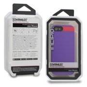 Incipio OVRMLD Hard Shell Molded Case Cover Skin for Apple iPhone 5 -Purple/Pink