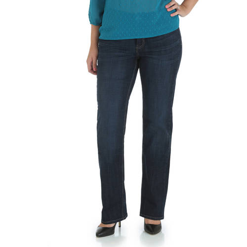 The Riders By Lee Women's Slender Stretch Straight Leg Jeans Available in Regular, Petite, and Long Lengths