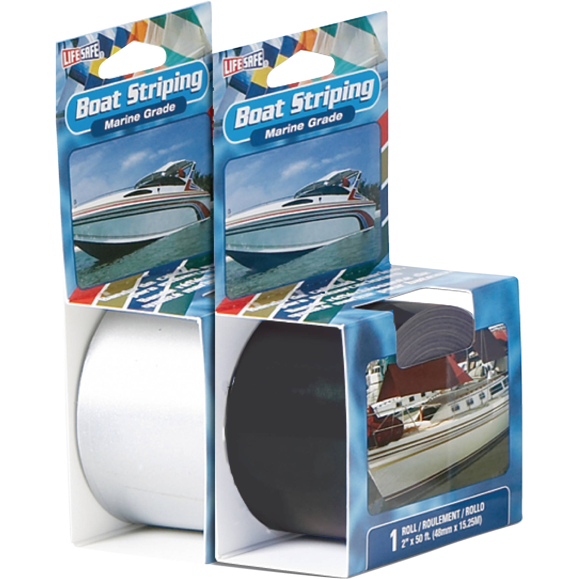 Life Safe Marine Grade Boat Striping Tape, 50'