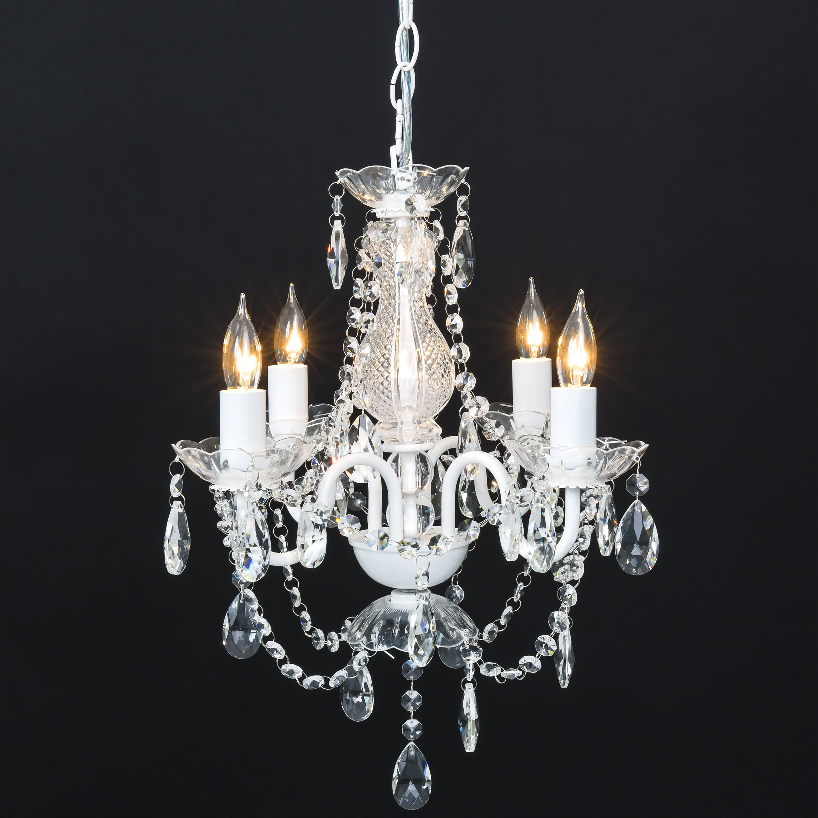 Click here to buy Best Choice Products Classic Shabby Chic Style Acrylic Crystal Chandelier w  Metal Frame... by Best Choice Products.