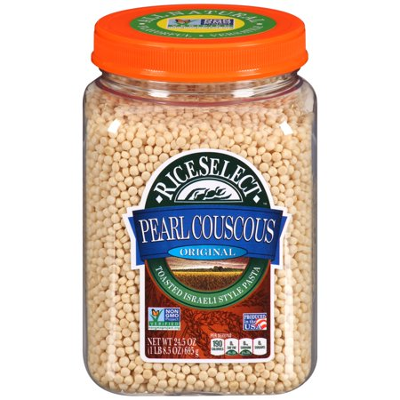 - RiceSelect Original Pearl Couscous, 24.5-Ounce Jar