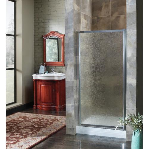 Hazelwood Home Chase 33'' x 65'' Pivot Framed Shower Door
