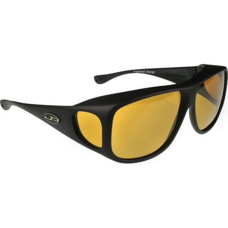 Fitovers Eyewear - Aviator Collection - Black/polarized (Fitovers Eyewear)