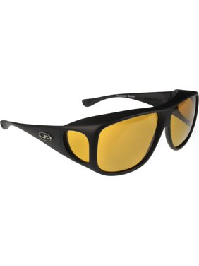 a88d5ed1c8064 Product Image Fitovers Eyewear - Aviator Collection - Black polarized Yellow