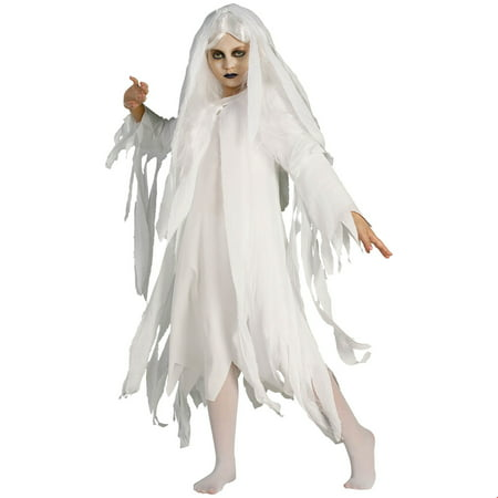 Girls Ghostly Spirit Costume](Ghostly Ghoul Costume)