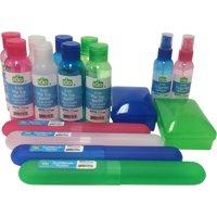 iGo Family Pack Travel Accessory Bundle, 20 pc