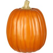 "12"" Harvest Pumpkin with Natural Stem Halloween Decoration"