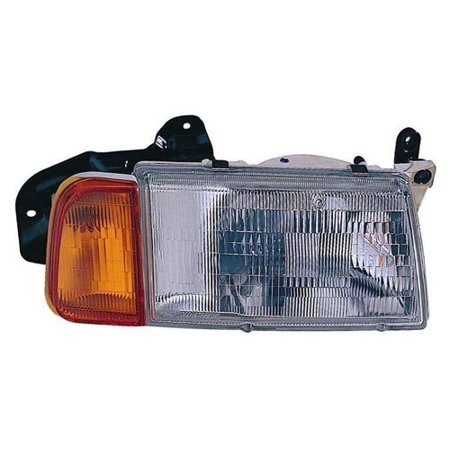 Go-Parts » 1989 - 1998 Suzuki Sidekick Front Headlight Headlamp Assembly Front Housing / Lens / Cover - Right (Passenger) Side - (2 Door + JS 4 Door + JX 4 Door) 35100-60A11 SZ2503101 Replacement)