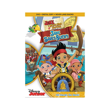 JAKE & THE NEVERLAND PIRATES-JAKE SAVES BUCKY (DVD/DC/SWORD) NLA (DVD)