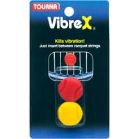 Tourna Vibrex-1 Vibration Dampener For Tennis, Squash and Racquetball