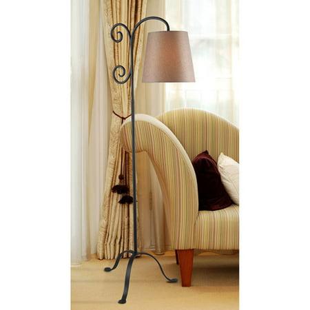 Kenroy Home Morrison Floor Lamp, Bronze Graphite