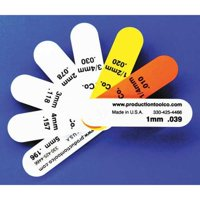 ASSEMBLY TOOL S - 8 Feeler Gauge,0.649 In Thick,3 In L Blade
