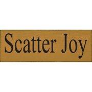 Winston Porter 'Scatter Joy' Textual Art