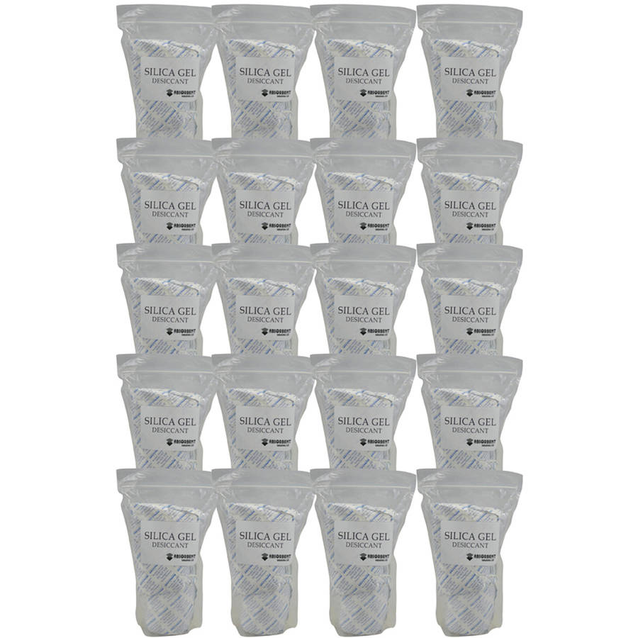 Image of Absorbent Industries 500g x 40pk Silica Gel Desiccant Moisture Absorber