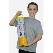 BIG LCR® Left Center Right™ Dice Game - Zip Bag (YELLOW)