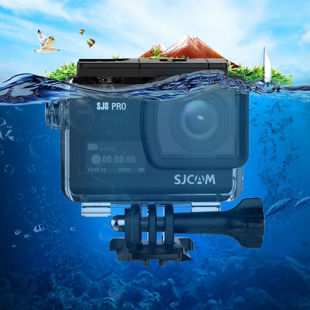 SJCAM SJ8 Pro 4K Action Camera Touch Screen Mini Wifi Cam Video Camcorder 170°Wide Angle Waterproof Outdoor Sports DV Camera On Sale
