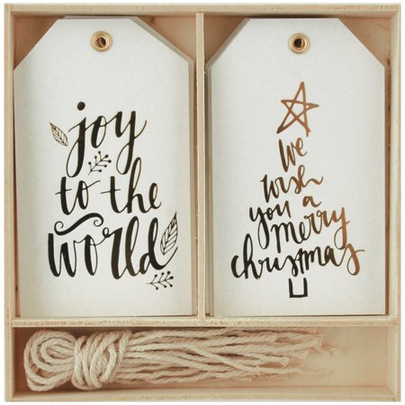 Lucky Dip Gift Tags 12/Box-Joy To The World](Cute Halloween Gift Tags)