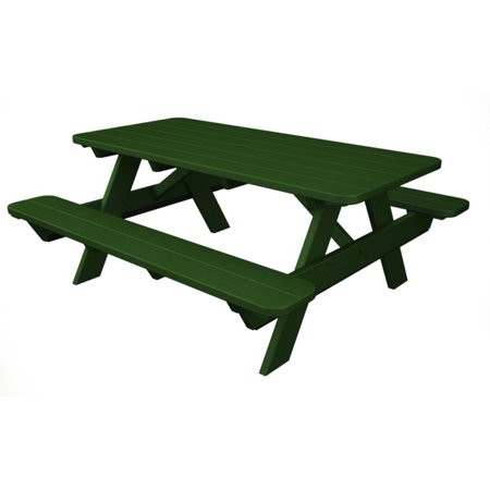 POLYWOOD® Park 6 ft. Recycled Plastic Picnic Table ()