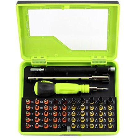 Screw Drivers Repair Tools Kit-53 in 1 Multipurpose Precision Screwdriver Set Multi-Bit Chic Torx Screwdriver for Cell Phone, Tablet, PC, MacBook