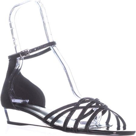 5a1b65ec1ea Womens Easy Street Tarrah Ankle Strap Wedge Sandals