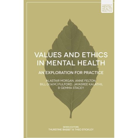 Values and Ethics in Mental Health - eBook