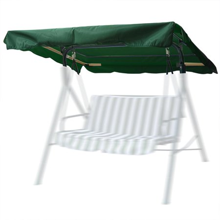 Yescom 72 1/2 x 53 1/2' Patio Swing Canopy Replacement Top Cover Green ()