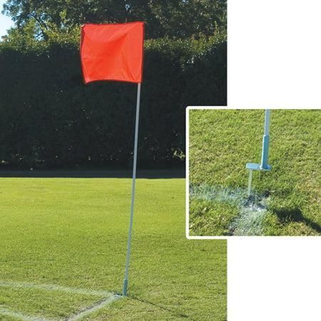 Alumagoal Flexible Soccer Corner Flags (Soccer Referee Flags)