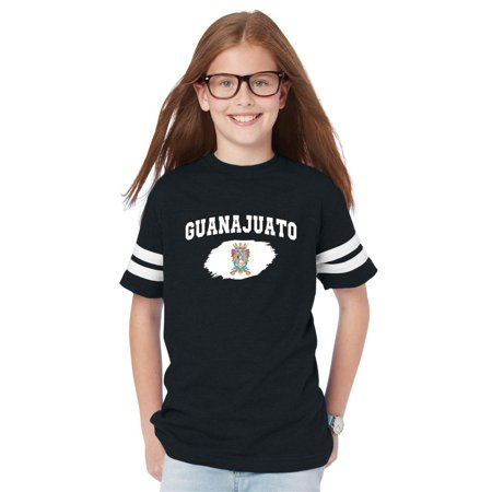 Mexico State of Guanajuato Youth Unisex Football Fine Jersey Tee