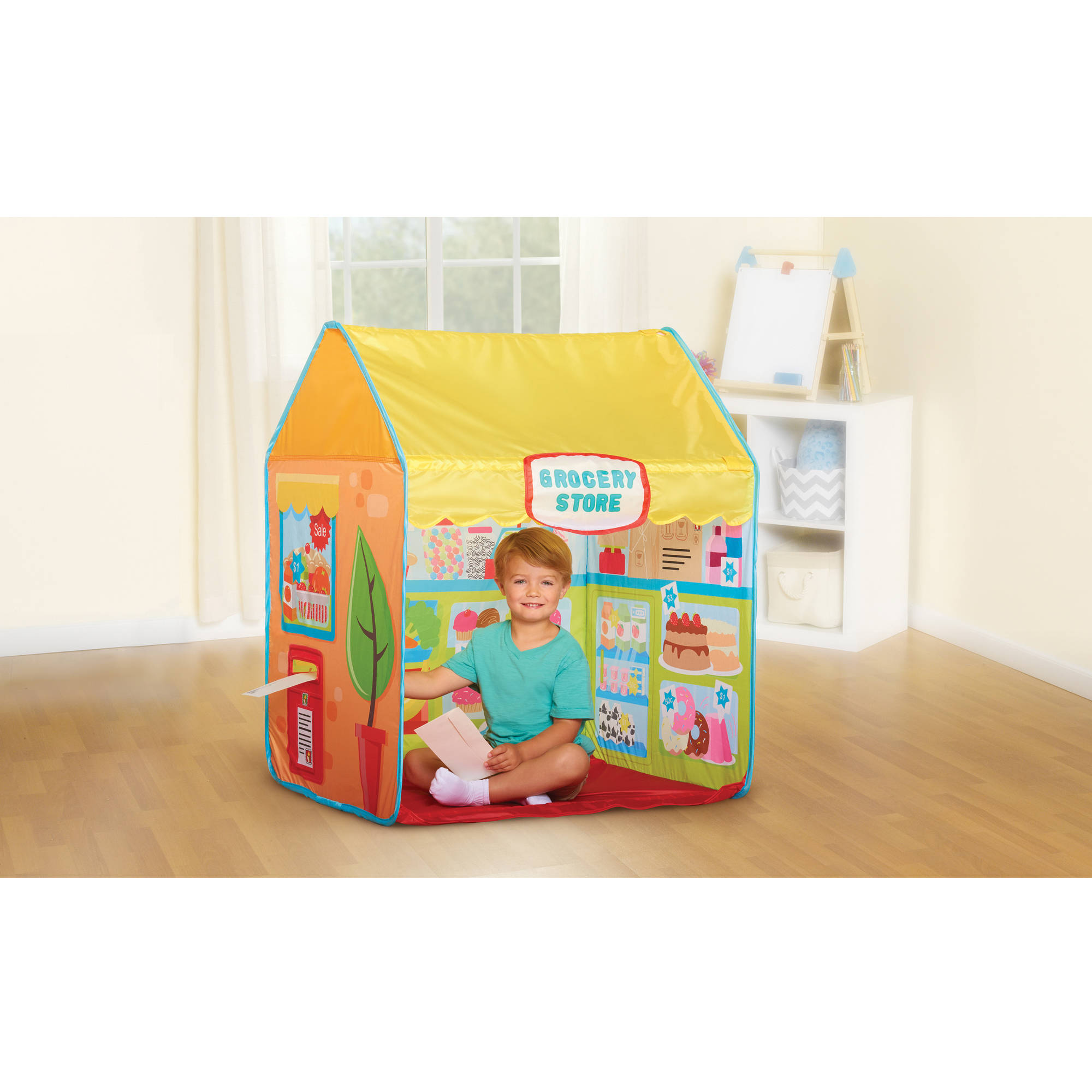 Grocery Store Pop Up Play Tent