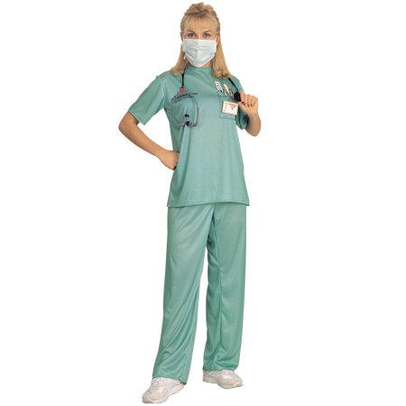 Hospital ER Female Adult - Female Train Conductor Costume