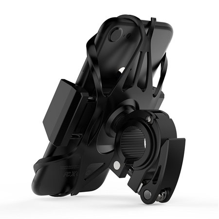 Widras Bike and Motorcycle Cell Phone Holder 2nd Generation | Bicycle Mount For iPhone X 8| 7| 6s 5s Plus | Samsung Galaxy S5 S6 S7 Note or any Smartphone & GPS| Mountain & Road Bicycle