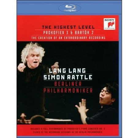 Lang Lang/Simon Rattle/Berliner Philharmoniker: The Highest Level - Prokofiev 3 And Bartok 2 (Lang Lang Simon Rattle Berlin Philharmonic Orchestra)