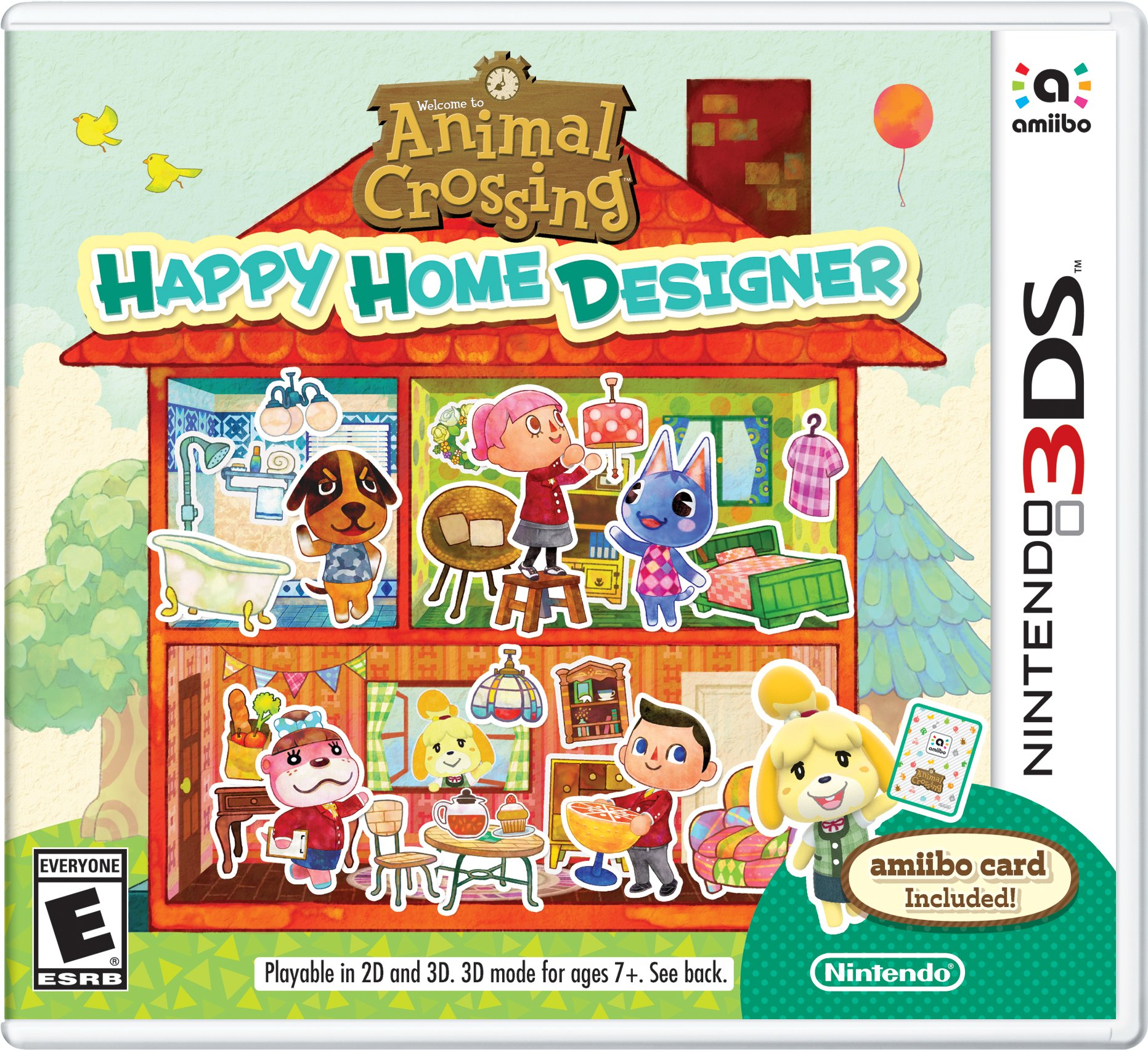 Animal Crossing: Happy Home Designer, Nintendo, Nintendo 3DS ... on home design apps for windows, home design art, home design glitch, home design fails, home design world, fashion games, home design toys, home design europe, home design categories, home design animation, home design graphics, home design software, home design coloring pages, home design photography, home design plans, home design ads, home design dishes, home design story, home design youtube channels, home design powerpoint,