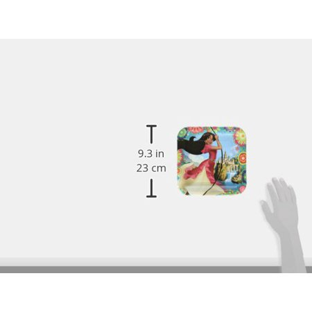 "American Greetings Elena 9"" Square Plate (8 Count) - image 1 de 2"