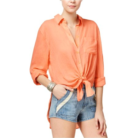 2b2a93fd FREE PEOPLE - FREE PEOPLE $98 NEW 19728 Button-Down That'S A Wrap ...